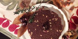 Tuscan chestnut Castagnaccio recipe