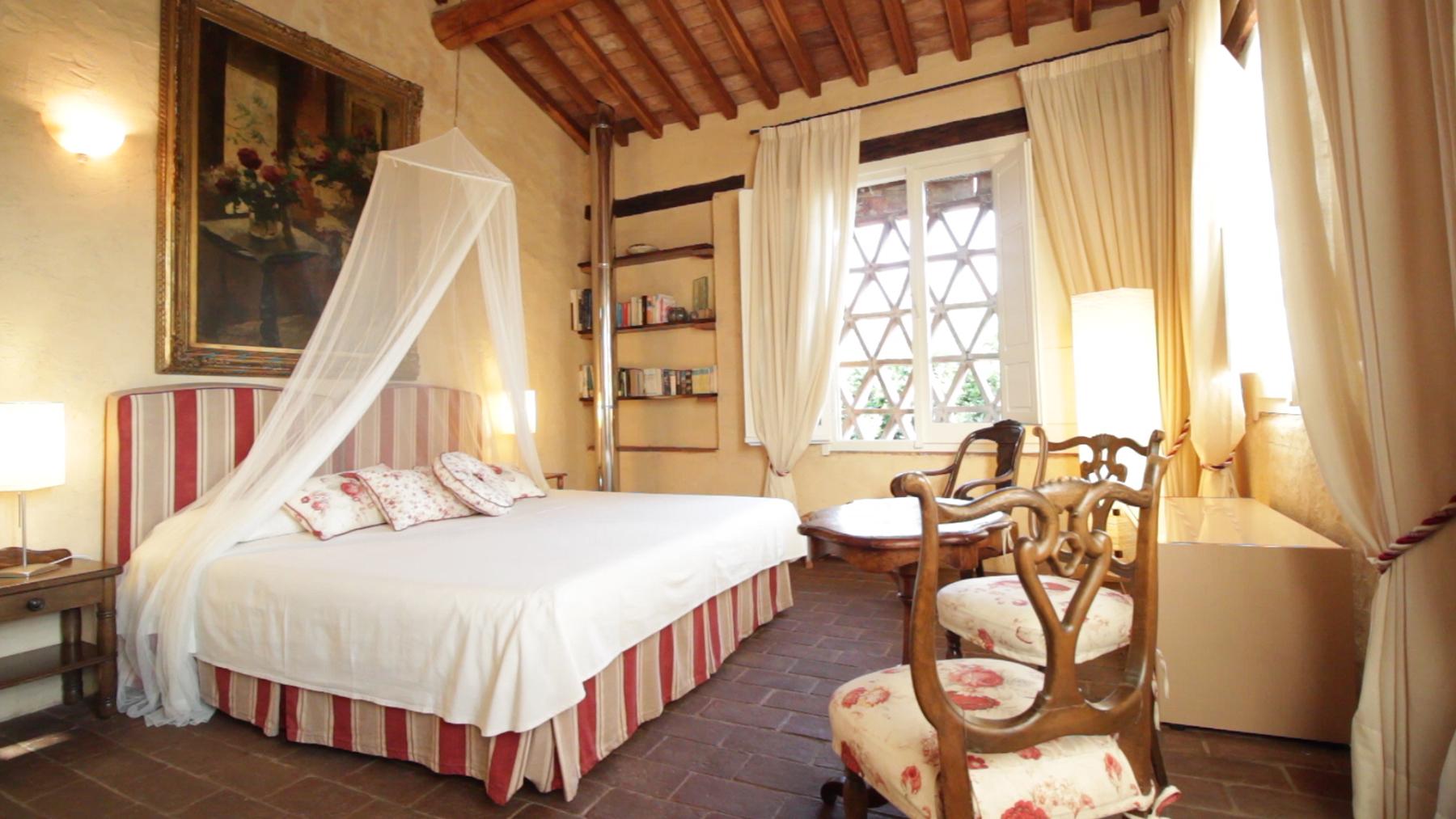 camera da letto-rustico-Toscana