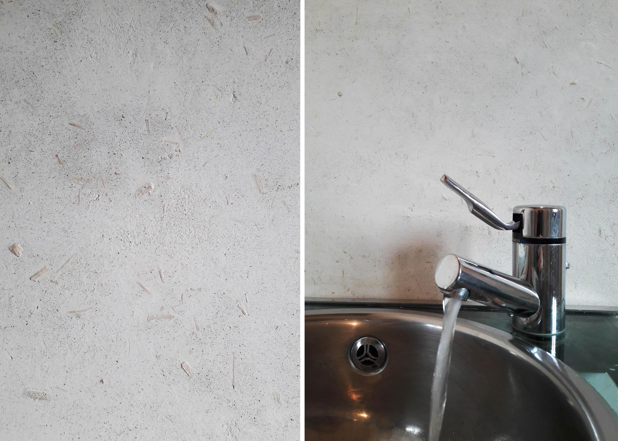 hemp plaster bathroom