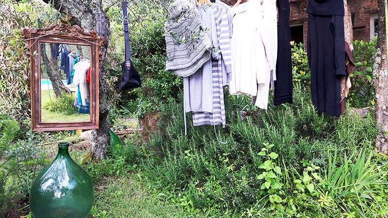 Swap party in giardino