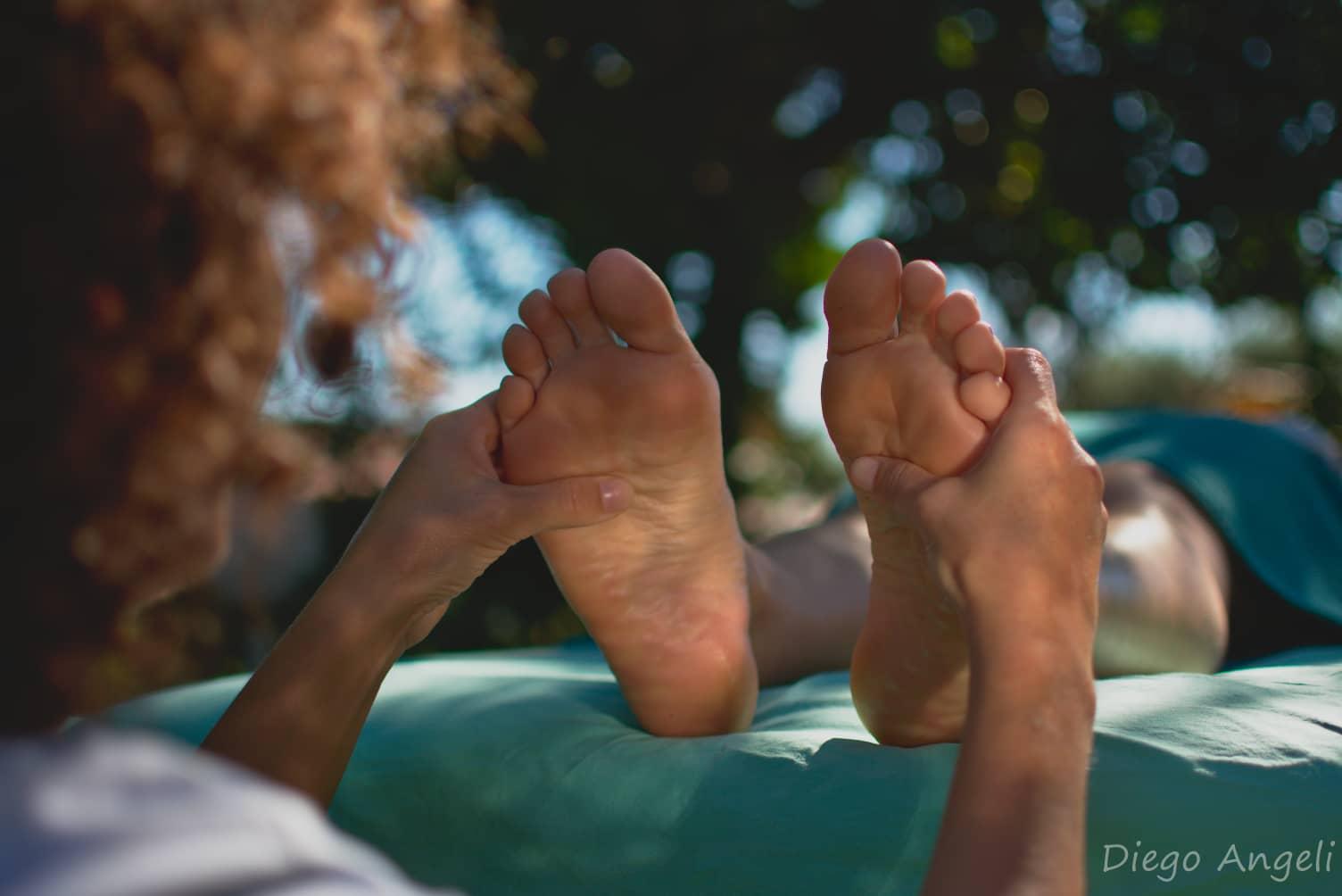 Lettura piede-benessere olistico