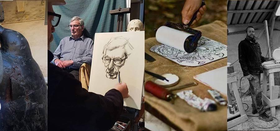 Alla scoperta di 4 studi artistici in Versilia