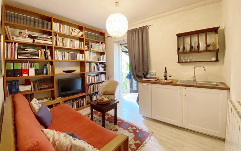 borgo4case soggiorno con cottura Appartamento Torretta