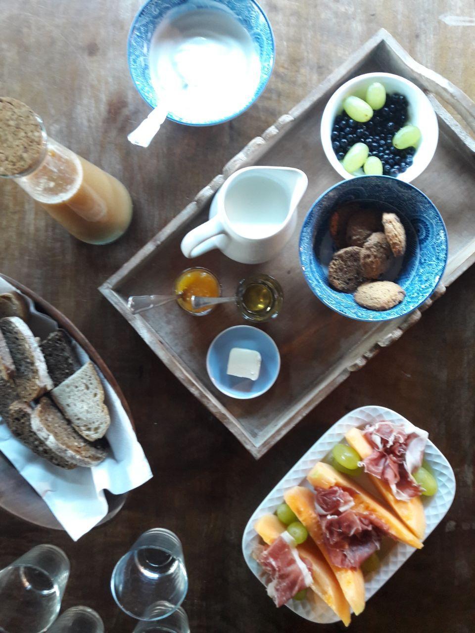 retreat sostenibile camaiore- colazione
