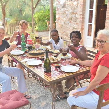 Tuscan cooking experience with Paola and Gaia